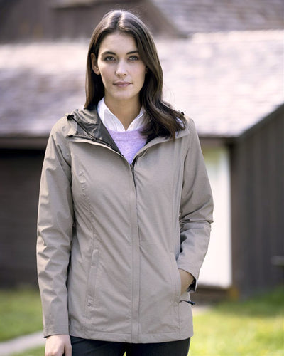 Weatherproof - Women's 32 Degrees Mélange Rain Jacket* - Addict Apparel