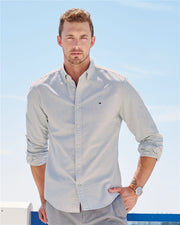 Tommy Hilfiger - New England Solid Oxford Shirt - Addict Apparel