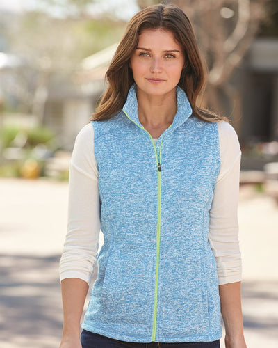 J. America - Women's Cosmic Fleece Vest* - Addict Apparel