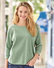 J America Lounge Fleece Dolman Crewneck Sweatshirt* - Addict Apparel