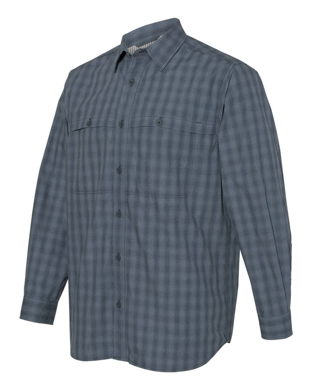 DRI DUCK - Paseo Plaid Shirt - Addict Apparel