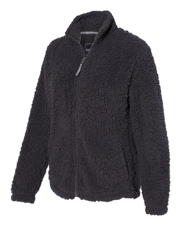 Boxercraft - Women's Sherpa Full-Zip Jacket* - Addict Apparel