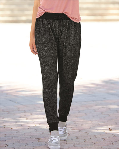 J. America - Women's Cozy Jersey Joggers* - Addict Apparel
