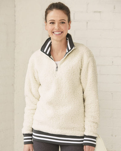 Boxercraft - Varsity Sherpa Quarter-Zip Pullover* - Addict Apparel