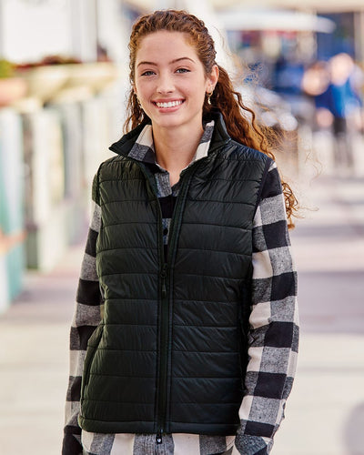 Independent Trading Co. - Women's Puffer Vest* - Addict Apparel