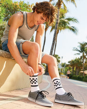 SOCCO - USA-Made Checkered Crew Socks* - Addict Apparel