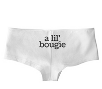 A Lil' Bougie Low Rise Cheeky Boyshorts
