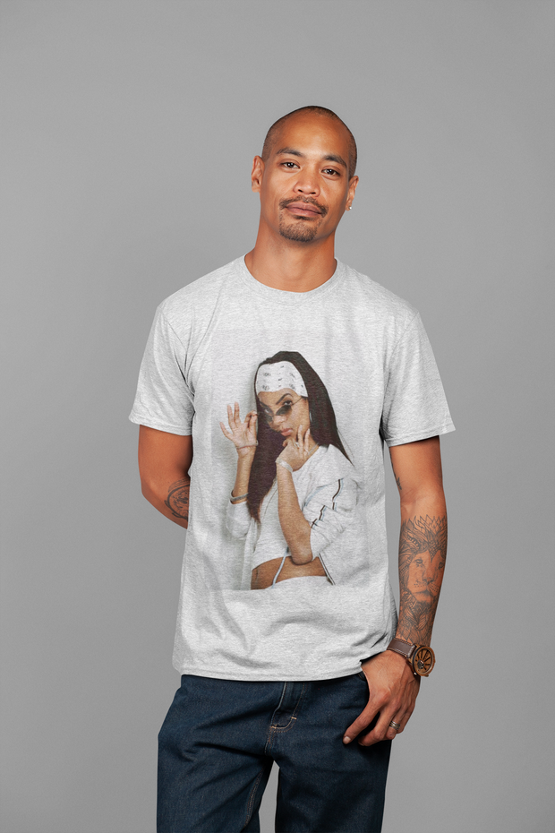 Aaliyah Picture T-Shirt* - Addict Apparel
