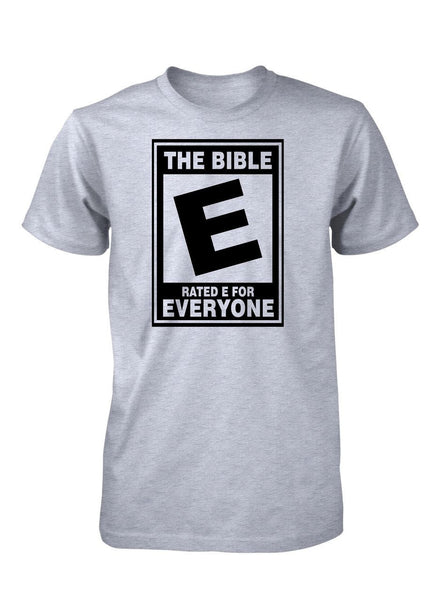 The Bible Rated E For Everyone Tee