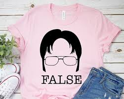 Dwight Schrute (The Office TV Show) False T-Shirt