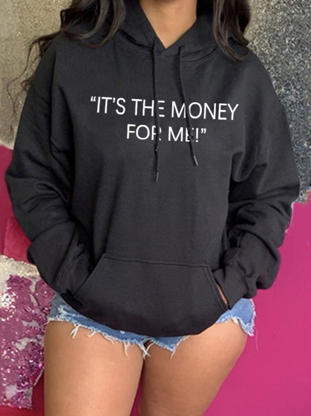 It's The Money For Me Hoodie* - Addict Apparel