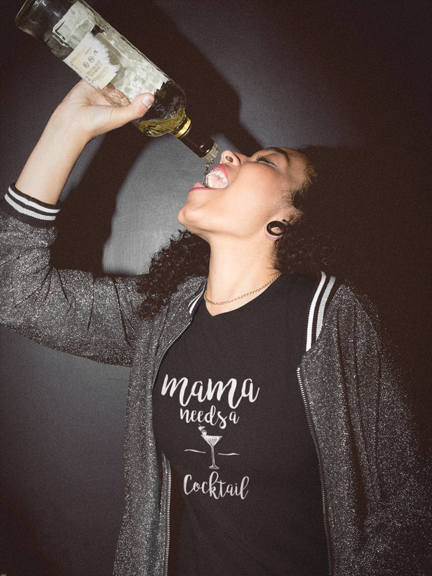 Mama Needs A Cocktail T-Shirt* - Addict Apparel