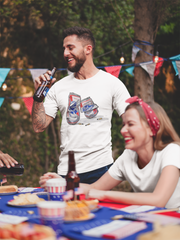Pabst Blue Ribbon Crushed Cans T-Shirt* - Addict Apparel