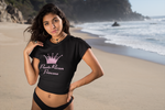 Puerto Rican Princess Crop Top T-Shirt