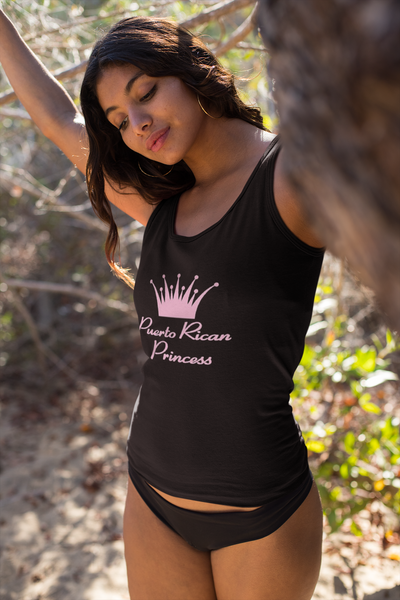 Puerto Rican Princess Tank Top