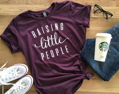 Raising Little People T-Shirt - Addict Apparel