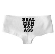 Real Men Eat Ass Low Rise Cheeky Boyshorts* - Addict Apparel