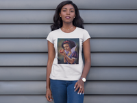 Natural Hair Snow Chocolate T-Shirt
