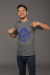 Addict Apparel Blue Logo T-Shirt