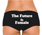 The Future Is Female Low Rise Cheeky Boyshorts