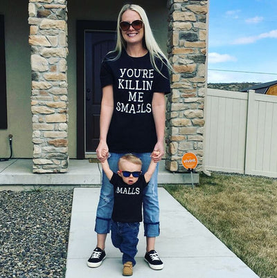 You're Killin' Me Smalls and Smalls (2pc) T-Shirt Set - Mommy & Me / Daddy & Me* - Addict Apparel