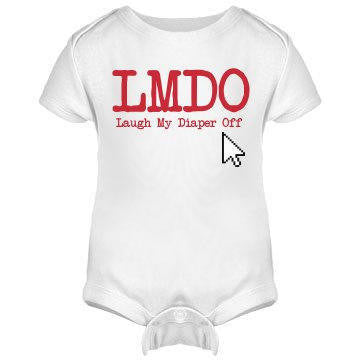 Laugh My Diaper Off Onesie / Infant Tee / Toddler Tee / Kids T-Shirt - Addict Apparel