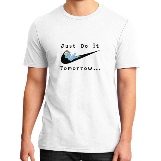 Just Do It Tomorrow T-Shirt - Addict Apparel