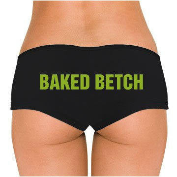 Baked Betch Low Rise Cheeky Boyshorts