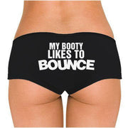 My Booty Likes To Bounce Low Rise Cheeky Boyshorts - Addict Apparel