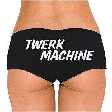 Twerk Machine Low Rise Cheeky Boyshorts - Addict Apparel