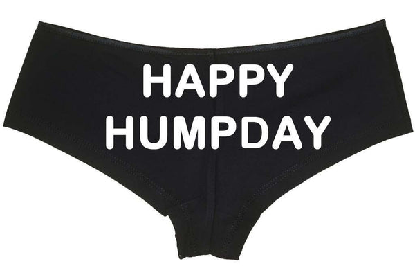 Happy Hump Day Low Rise Cheeky Boyshorts