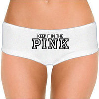 Keep It In The Pink Low Rise Cheeky Boyshorts