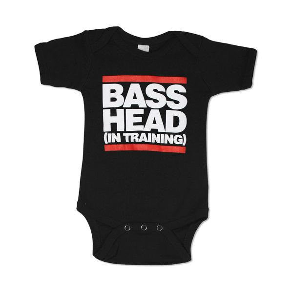 "Bass Head ""In Training"" Baby Onesie Bodysuit"