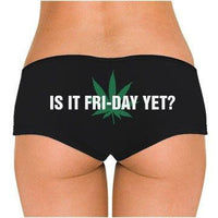 Is It Fri-Day Yet? Low Rise Cheeky Boyshorts
