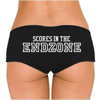 Scores In The Endzone Low Rise Cheeky Boyshorts