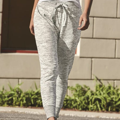 J. America - Women's Mélange Fleece Joggers* - Addict Apparel