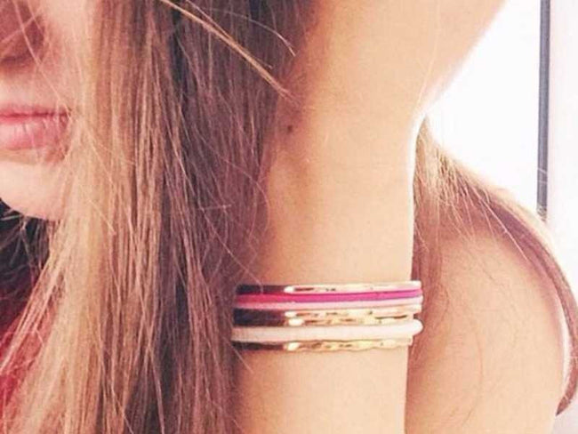 Luxury Hair Tie Bracelets