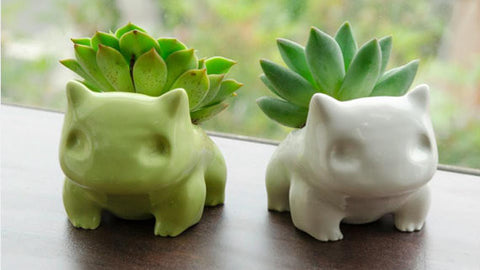 Ceramic Bulbasaurs for all your Grass-types