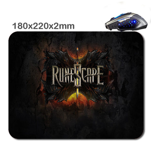 High Quality Runescape Gaming Mouse Pad