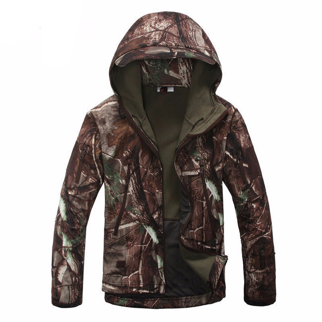 Tactical Waterproof/ Windproof Camouflage Coat