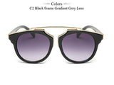 Designer Brand UV400 Protection Cat Eye Sunglasses