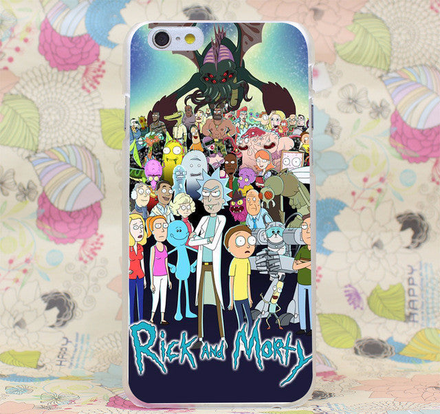 Rick and Morty iPhone Cases
