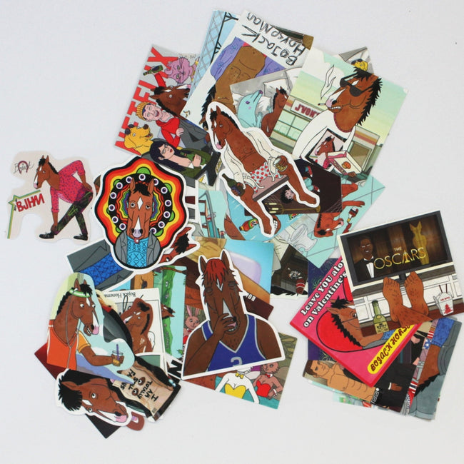 40pcs Bojack Horseman Stickers
