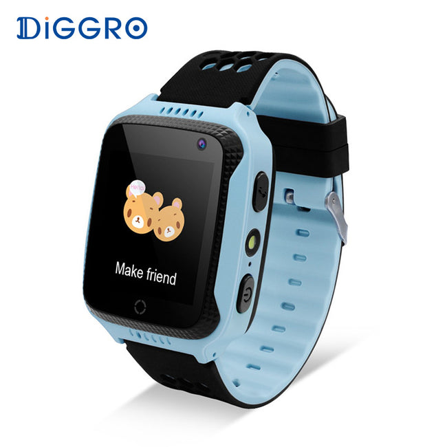 Cool Waterproof Smartwatch for Kids with GPS Location Tracker & Camera