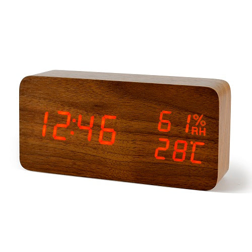 Modern Stylish LED Alarm Clock with Digital Display