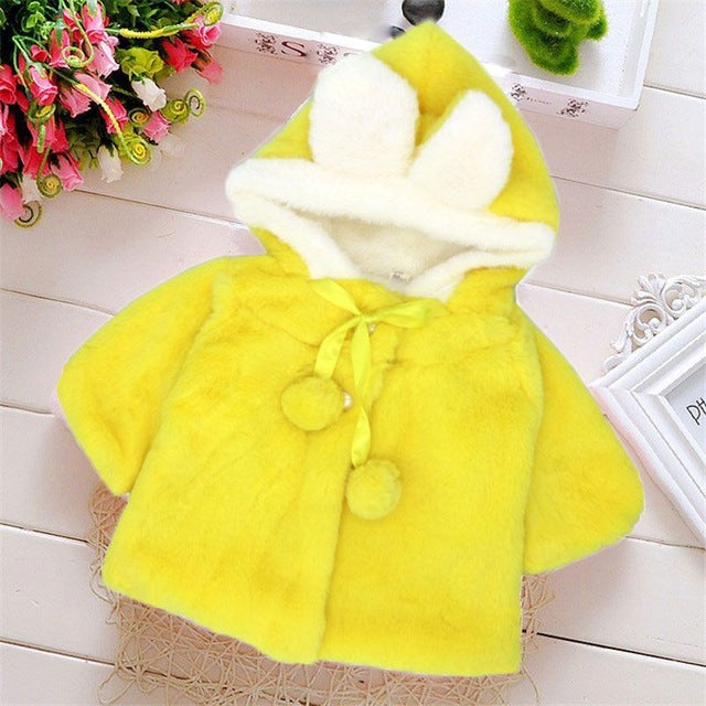 Unisex Baby Soft Hooded Coat