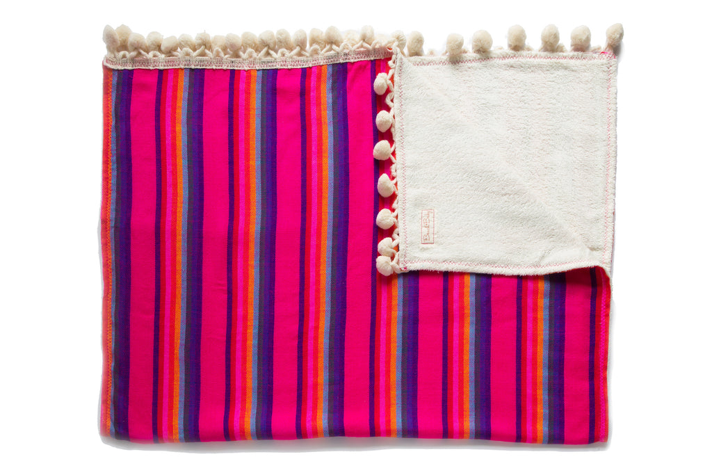 Pom Pom Beach Towel Kids