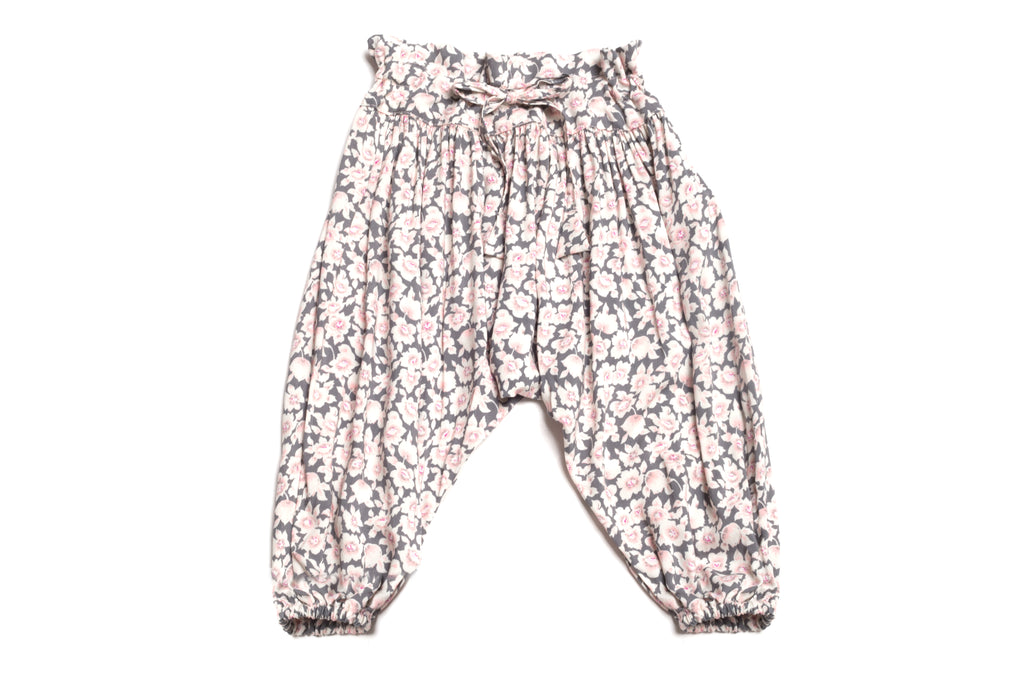 Baby's & Toddler Girls Handmade Floral Harem Pants | Born By the Shore