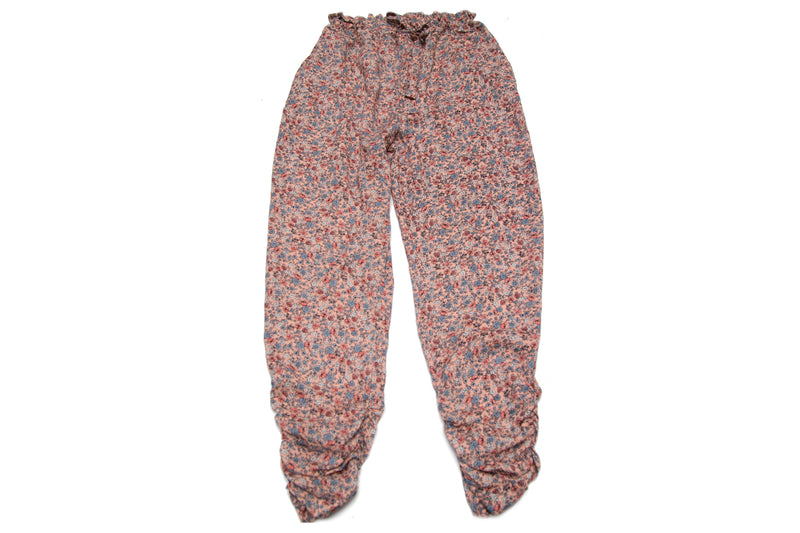 Beach Roses Mom Harem Pants