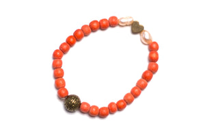 Baby Bracelet Orange Blossoom